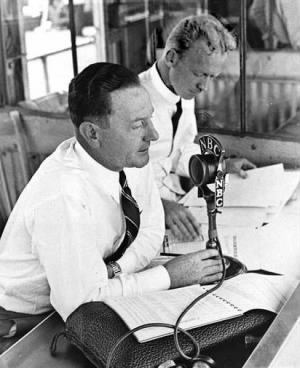 Red Barber calling play-by-play at the 1938 All Star Game .jpg