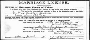 Anne Wallace 1908 to Max Howland Marr Docs2.jpg
