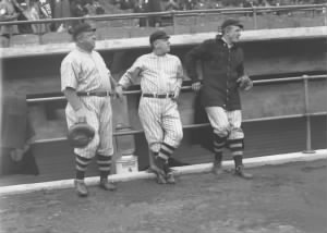 Wilbert Robinson, John McGraw, Christy Mathewson.jpeg