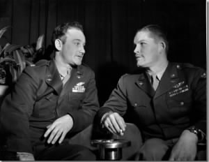 Thomas Ferebee, left, of Mocksville, N.C., and Capt. Kermit Beahan, right, of Houston, Texas.jpg