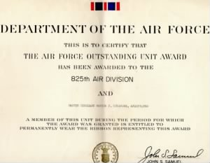825th Air Division Outstanding Cert..jpg