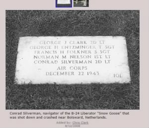 Conrad Silverman grave with additional info from findagrave.jpg