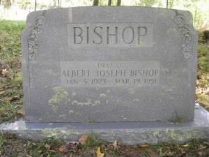 1Lt. Albert Joseph Bishop Headstone.jpg