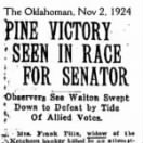 The Oklahoman, 02 Nov 1924