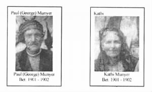 George and Katbe Munyer of Rugby, ND