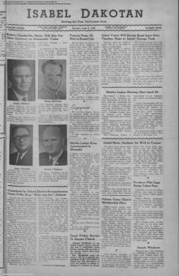 1968-Apr-11 Isabel Dakotan, Page 1