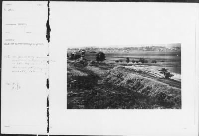 Mathew B Brady Collection of Civil War Photographs › B-342 View of Gettysburg, PA., 1863. - Fold3.com