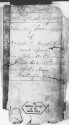 Letters Received and Statements of Evidence Collected by the Military Commission, pages 1-53 - Page 442