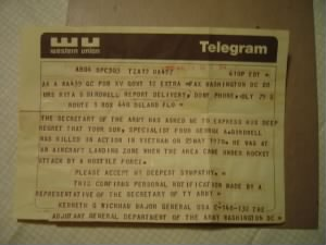 The Dreaded Telegram