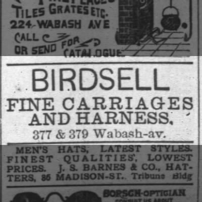 ad for birdsell