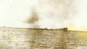 LST-808 is sunk.