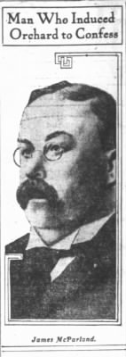 6/14/1907 - James McParland, Pinkerton Detective Agency